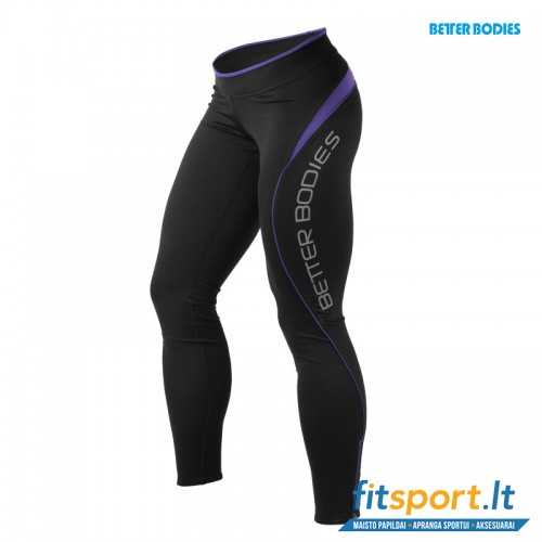 Better Bodies Fitness long tights/purple