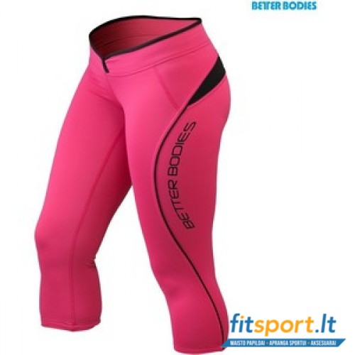 Better Bodies Shaped 3/4 tights/hot pink