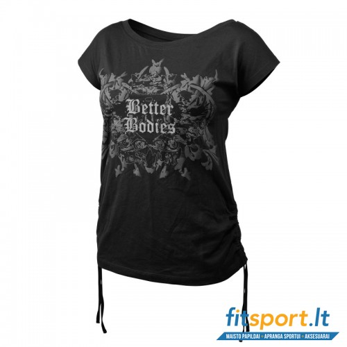 Better Bodies Printed s/s tee/black