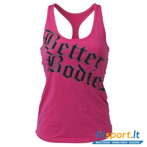 Better Bodies Printed T-back/pink