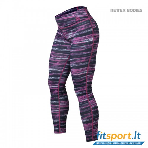 Better Bodies Printed tights/pink