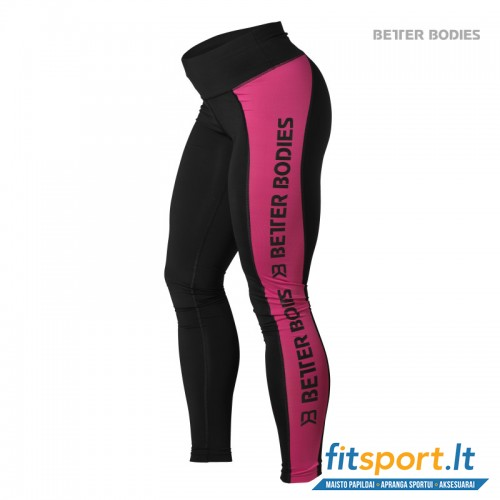 Better Bodies Side Panel tights/pink
