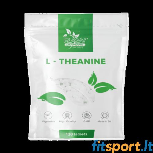 Raw Powders L-Theanine 120 kaps. - 120 porcijų