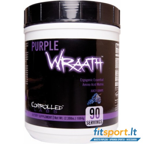 Controlled Labs Purple Wraath 1108 g + DOVANOS!!