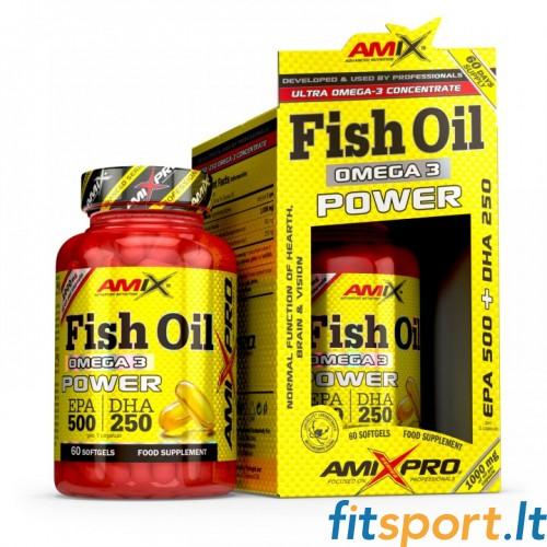 AmixPro™ Fish Oil Omega3 Power 60 kaps