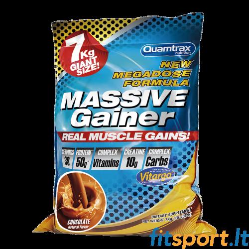 Quamtrax Massive Gainer 7000 g + Amix Monster shaker 3 in 1