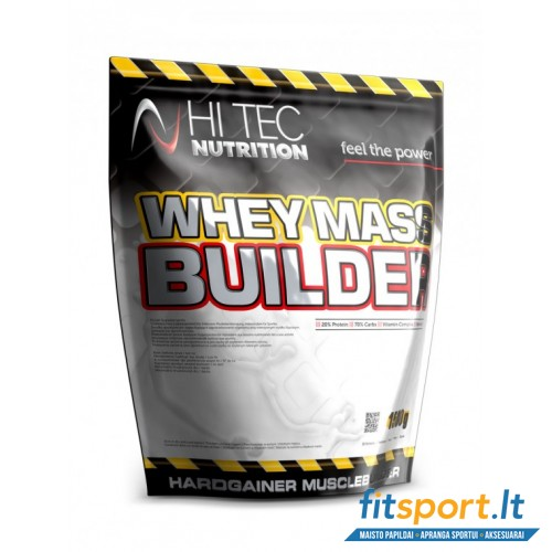 Hi Tec Nutrition Whey Mass Builder 1500g.