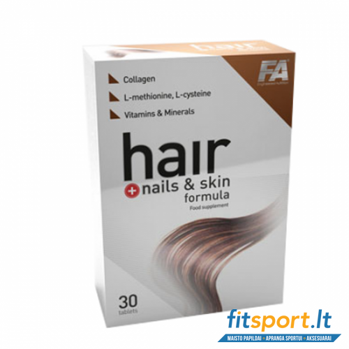 FA Hair + nails & skin formula 30 tab.