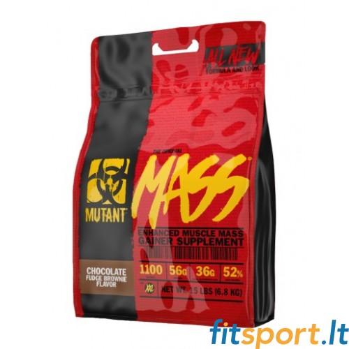 Mutant Mass 6,8kg (nauja versija) + Raw powders plaktuvė dovanų