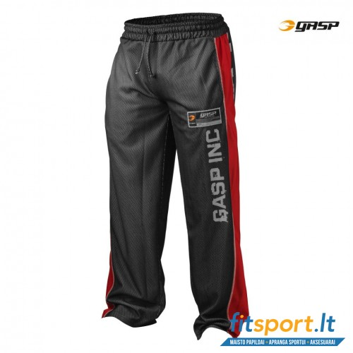 GASP No1 Mesh pant/red