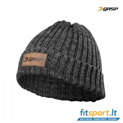 GASP Heavy Knitted Hat/metal