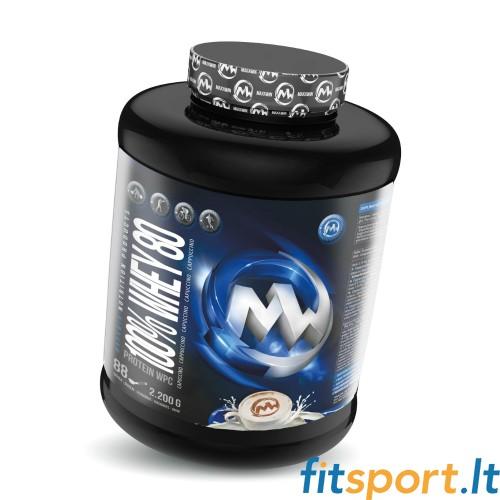 MaxxWin 100% WHEY 80 WPC 2200g