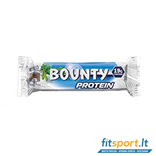 Bounty baltyminis batonėlis 51 g