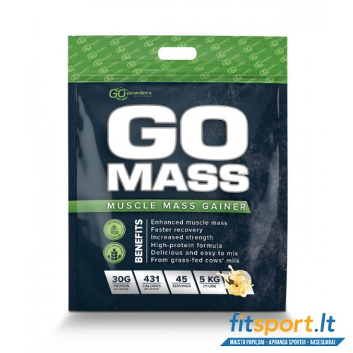 Go Powders GO MASS Gainer 5000g + DOVANA