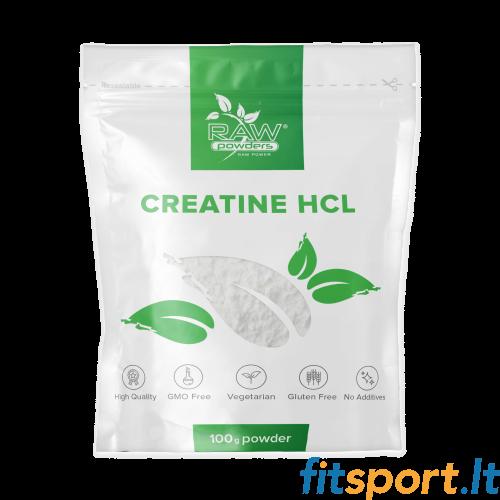 Raw Powders Creatine HCl 100 g - 33 porcijos