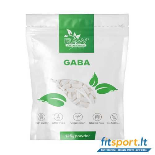 Raw Powders Gaba 125 g - 125 porcijos