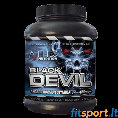 Hi Tec Black Devil 240 kaps  - Testosteronas