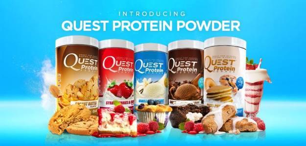 """Vaizdo rezultatas pagal užklausą """"quest protein powder"""""""