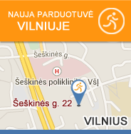 Papildai sportui Vilniuje